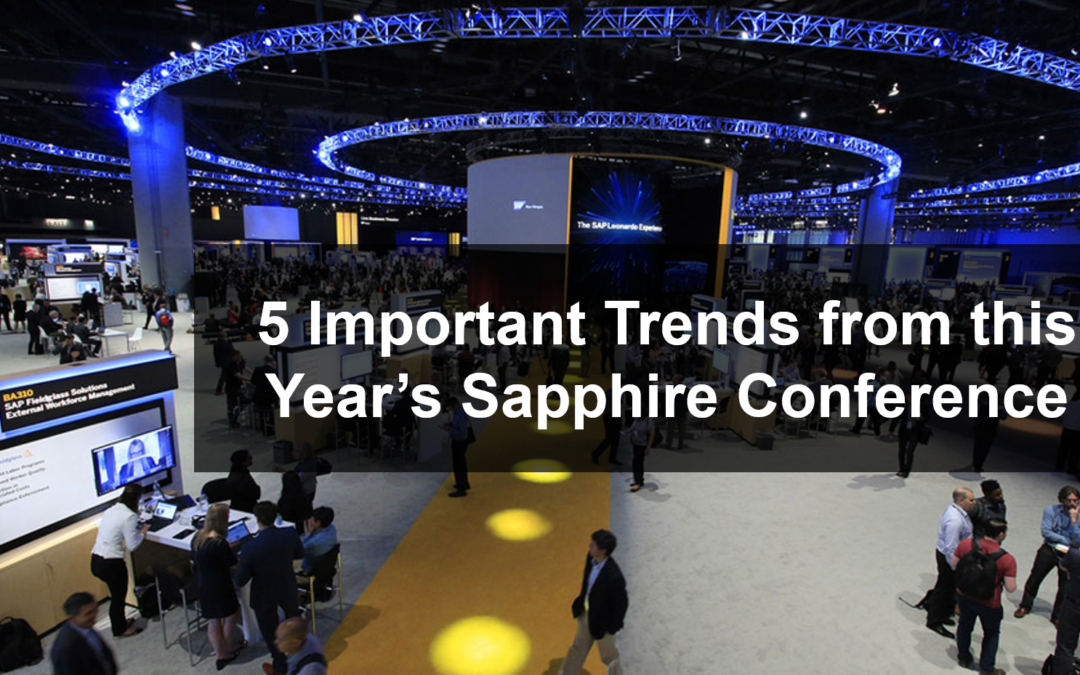 5 Important Trends from this Year's Sapphire Conference