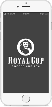 Royal Cup APP Screenshot within Iphone
