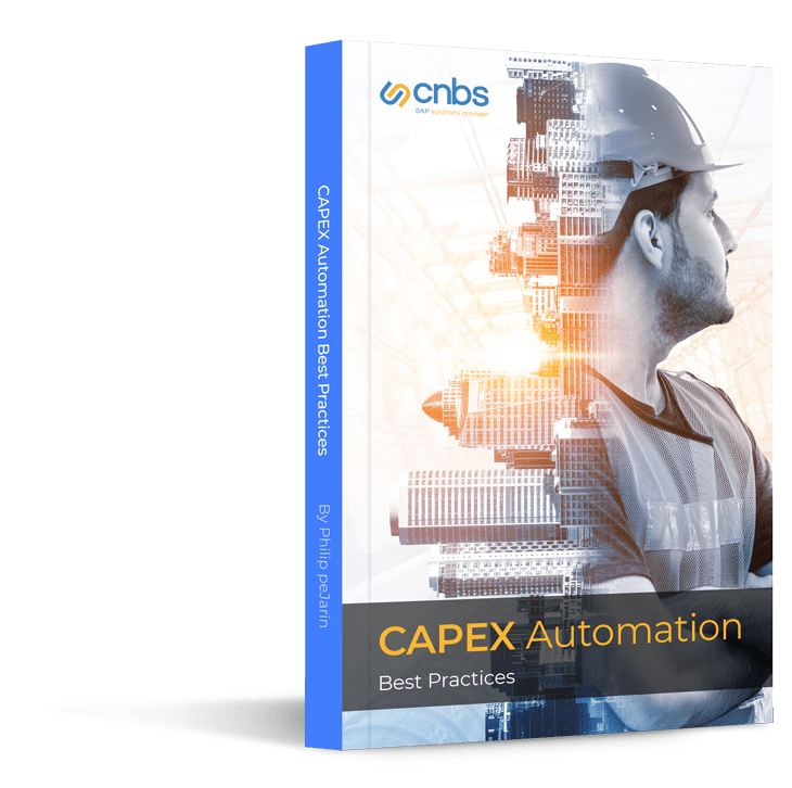 SAP Capex Automation best practices ebook Cover