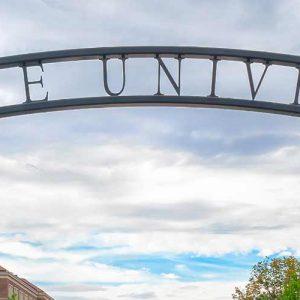 Purdue University Sign