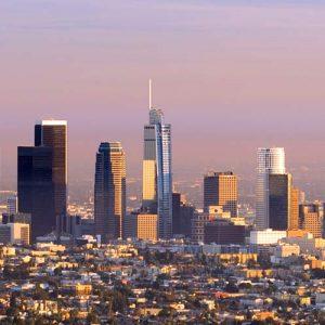 Los Angeles Skyline at Dawn